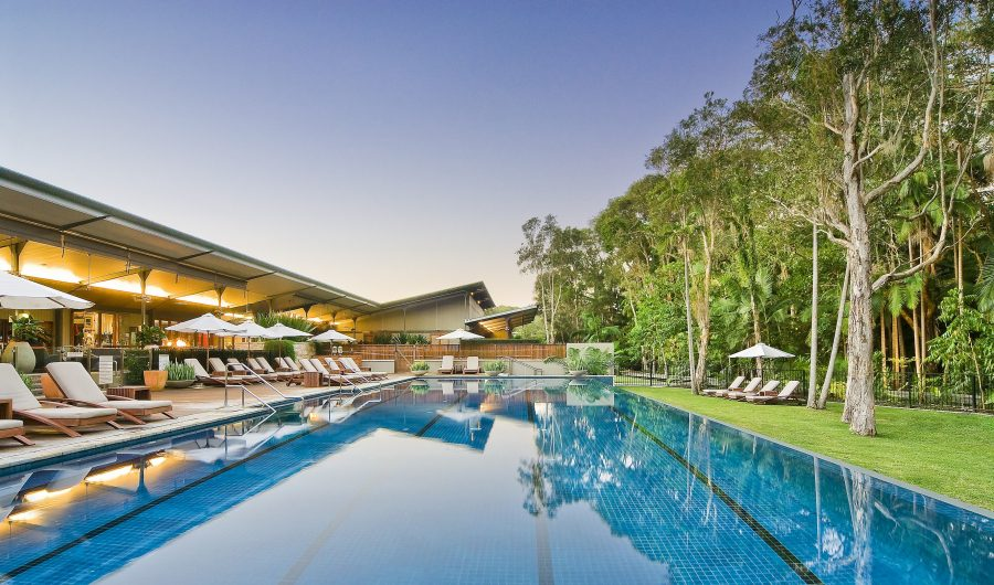 Tropical Getaway Travel Destination Byron At Byron Pool