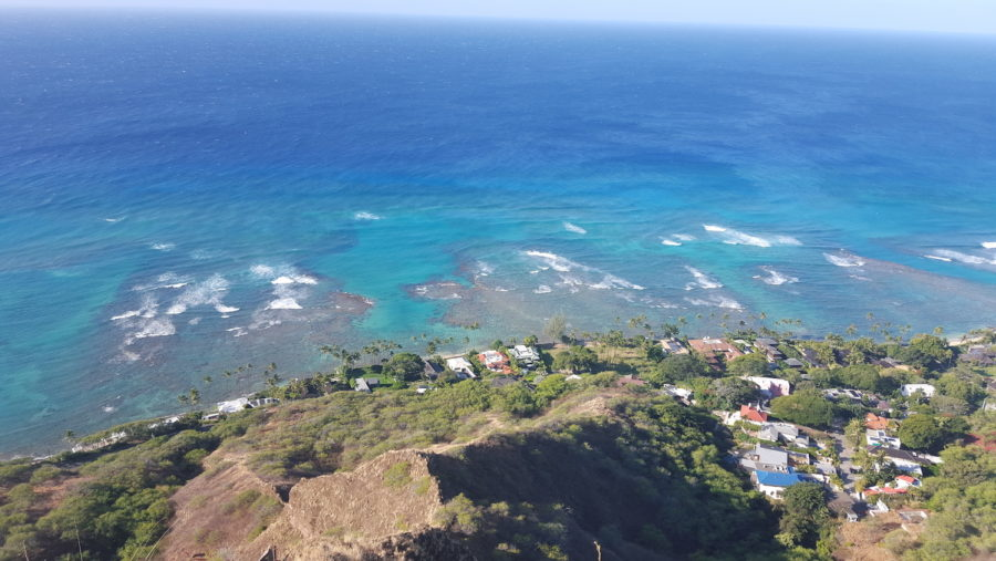 What To Do In Hawaii Travel Story Family Holiday Diamond Head Hike View