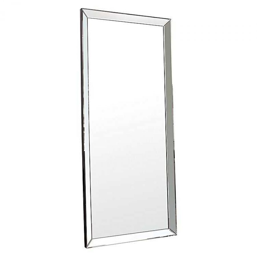 How To Instantly Make Your Home Look Bigger Large Leaning Mirror Zanui Glass Frame